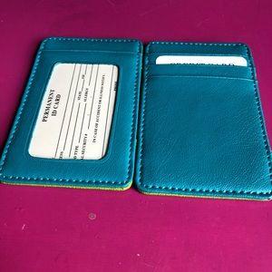 Handbags - Inside/Outside Magic Wallet-Turquoise & Lime Green